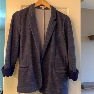 Jackets & Blazers - ⚡️Flash Sale ⚡️ Blue cotton blazer